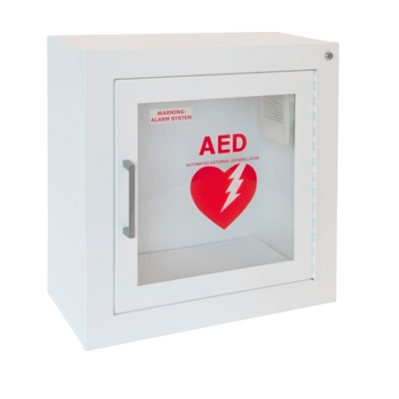 Attirant Surface Mount Wall AED Cabinet With Alarm. Zoom