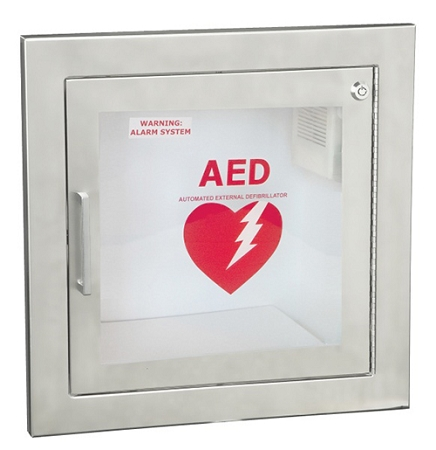 Recessed Stainless Steel Aed Cabinet Guaranteed Lowest