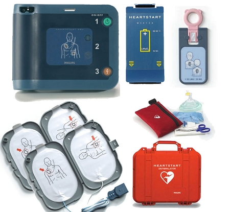 Philips HeartStart FRx First Responder AED Package - AEDs
