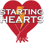 starting hearts aed logo