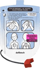Defibtech Pediatric Training Pads Kit