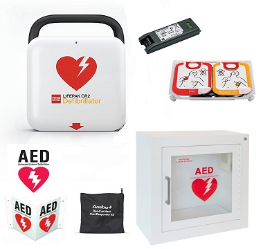 LIFEPAK CR2 Community AED Package