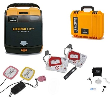 LIFEPAK CR Plus First Responder AED Package