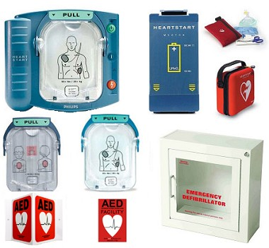 Philips HeartStart OnSite School AED Package