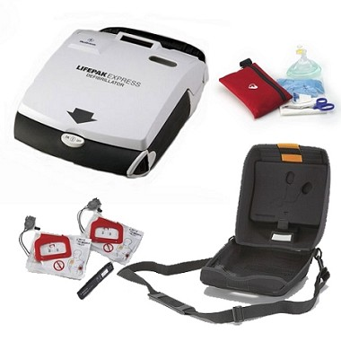 LIFEPAK Express: Refurbished AED Package