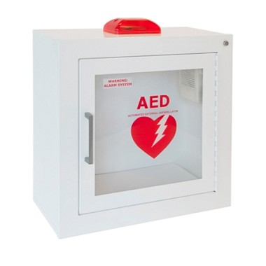 AED Wall Cabinet with Strobe Alarm