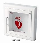 Semi-Recessed AED Wall Cabinet