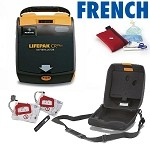 LIFEPAK CR Plus: Refurbished Fully-Automatic w/Français Audio