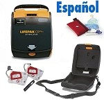 LIFEPAK CR Plus: Refurbished w/Espanol Audio