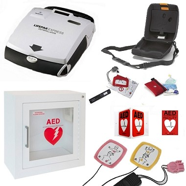 LIFEPAK Express Church AED Package