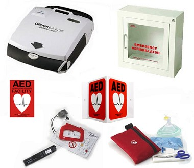 LIFEPAK Express Gym AED Package
