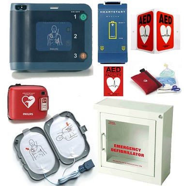 Philips HeartStart FRx New York State Dental AED Package