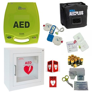 Zoll AED Plus School AED Package